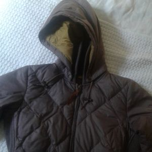 Eddie Bauer down coat size small